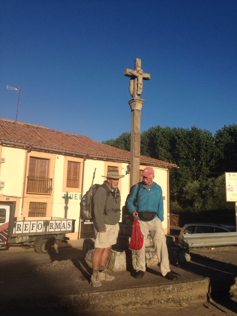 Phil, finally on his Camino
