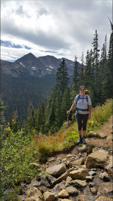 Training hike: 4th of July Trail, Nederland, CO