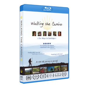 Walking the Camino Bluray box