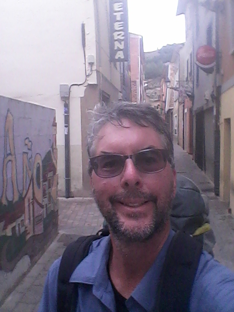 André on the Camino